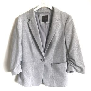 Limited Ruched Sleeve Blazer